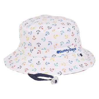 Anchor | Reversible Cotton Hat - Outside