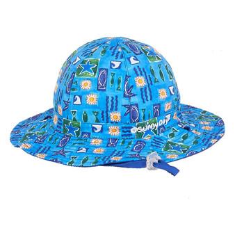 Caspian | Reversible Cotton Hat - Outside