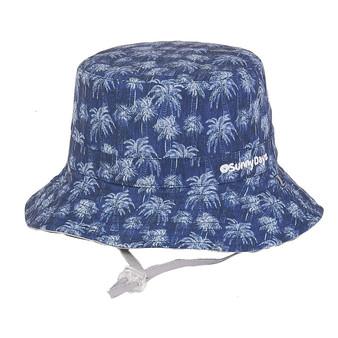 Davey | Reversible Cotton Hat - Outside