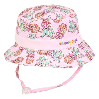 Clora | Reversible Cotton Hat - Outside