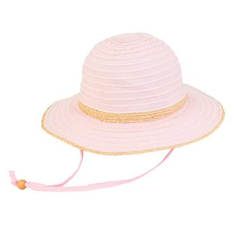 Natalie | Paper Braid Hat - Pink