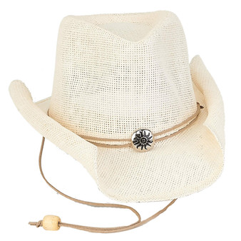 Kaylee | Paper Straw Hat - Ivory