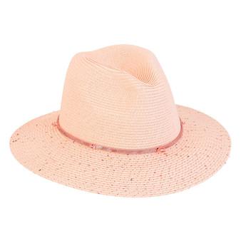 Eila | Paper Braid Hat - Pink
