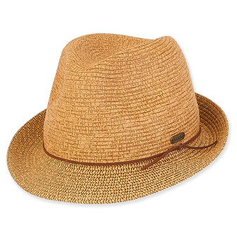 Caribbean Joe PAPER BRAID Fedora - Aria