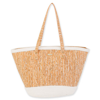 JENI SHOULDER TOTE - Natural