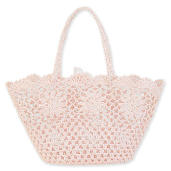 CAIT SHOULDER TOTE - ROSE