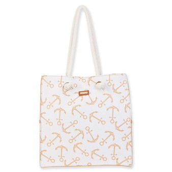 ANCHOR MARINA SHOULDER TOTE - TAN