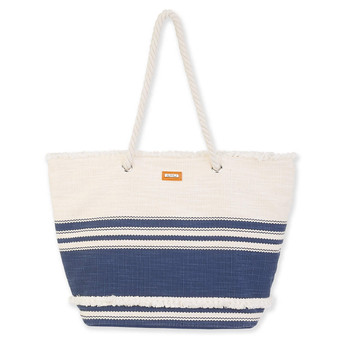 CYNTHIA SHOULDER TOTE - NAVY