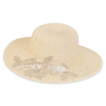 Girona Braid Floppy Hat