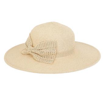 Quinn Braid Floppy Hat - Natural