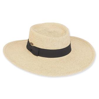 Chitre Braid Floppy Hat - Natural
