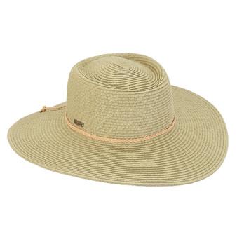 Cativa Braid Floppy Hat-Moss