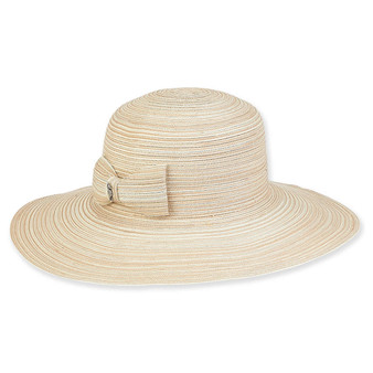 Ada Braid Floppy Hat - Natural