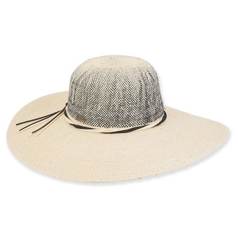 Anya Crochet Floppy Hat - Natural