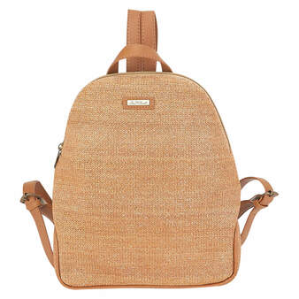 PAPERSTRAW BACKPACK OCEANIA - Tan