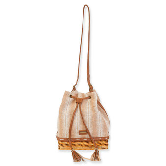 SUN N SAND COTTON/WILLOW SLING MAYAN - Tan