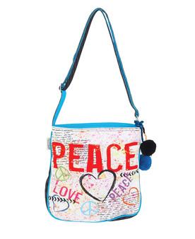 SUN N SAND LOVE, PEACE, N/S CROSSBODY