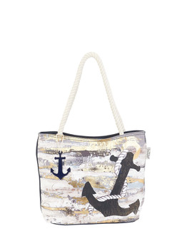 SUN DANCE ANCHORS AWAY, MEDIUM TOTE