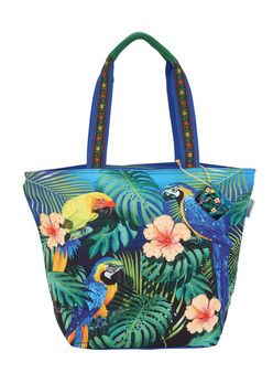 GUY HARVEY ISLAND BEAUTIES, SHOULDER TOTE