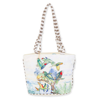 GUY HARVEY TREASURES OF THE TROPICS MEDIUM TOTE