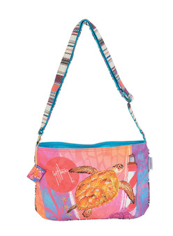 GUY HARVEY CRUISING ALONG, E/W CROSSBODY