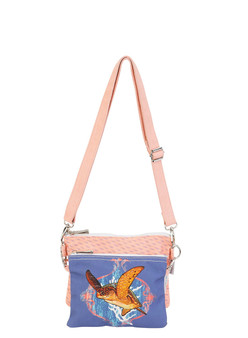 GUY HARVEY OCEAN FRIENDS, 2PC CROSSBODY