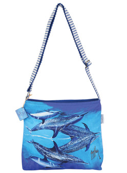 GUY HARVEY SEA REFLECTIONS, N/S CROSSBODY