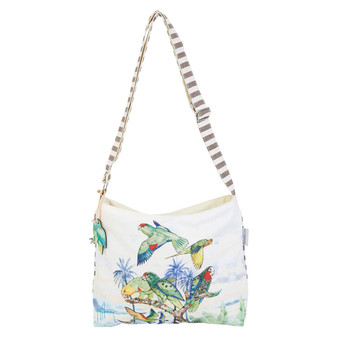 GUY HARVEY TREASURE OF THE TROPICS, E/W CROSSBODY