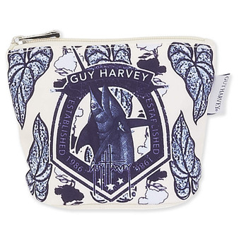 GUY HARVEY MARLIN GARDEN, COIN PURSE