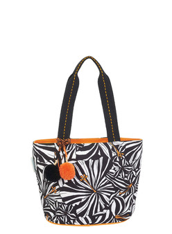 CARIBBEAN JOE ZEBRISCUS, MEDIUM TOTE