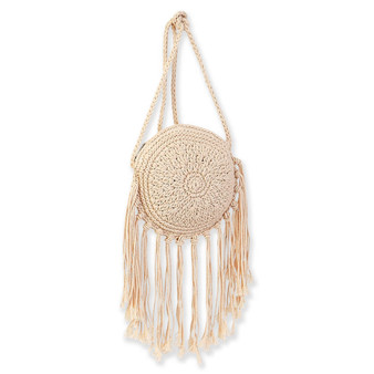 SUN N SAND NATURAL CROSS BODY HAOLE - NATURAL