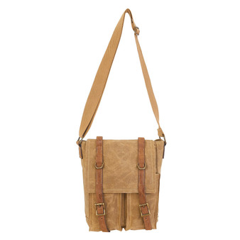 Celia Flap Over Crossbody - Khaki