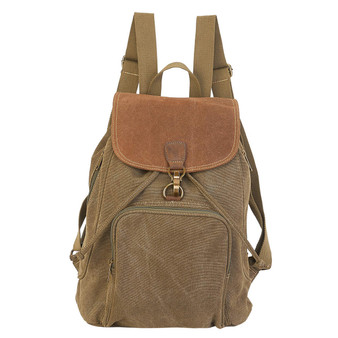 Stella Flap Over Backpack - Green