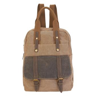 Violet Backpack / Tote - Khaki