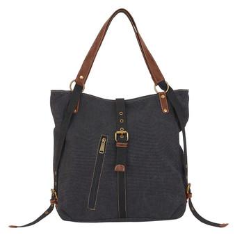 Julia Convertible Tote Backpack - Charcoal