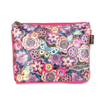 LB6642 - Cosmetic Bag - Foiled Canvas