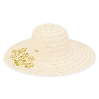Caribbean Joe - Paper Straw Hat