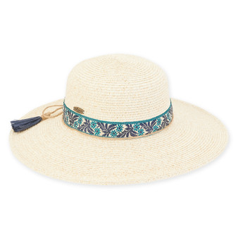 Caribbean Joe - Paper Braid Hat