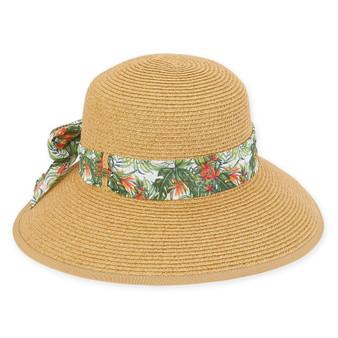 Caribbean Joe - Paper Braid Hat