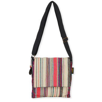 "TAMILA FLAP OVER CROSSBODY | 10"" x 10"""