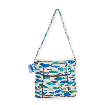 "FISH SCHOOL LARGE CROSSBODY | 15""x 5""x 11"""