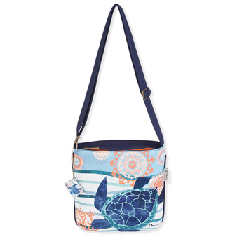 "SEASIDE TREASURES MEDIUM CROSSBODY| 11""x 11"""