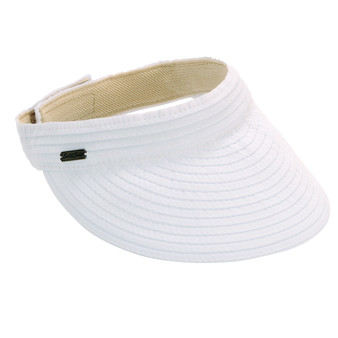 ADINA RIBBON VISOR W/ VELCRO CLOSURE