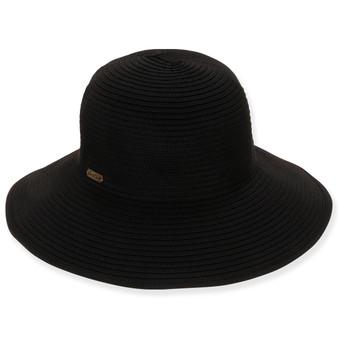 SEWN RIBBON HAT