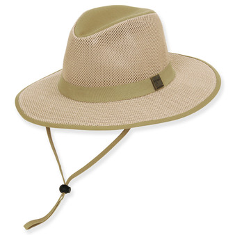 GUY HARVEY COTTON HAT W/ CHIN CORD