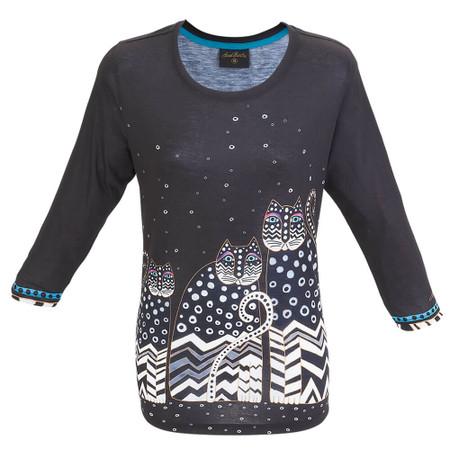 """NWT Size 2XL Laurel Burch /""""Women Spirit/"""" Long Sleeve T Shirt"""