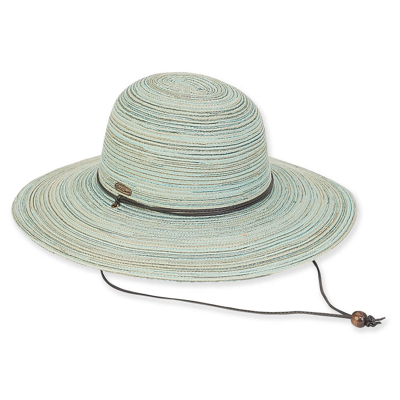 cbb0f9a6356 ... Sloane Braid Floppy Hat - Green ...
