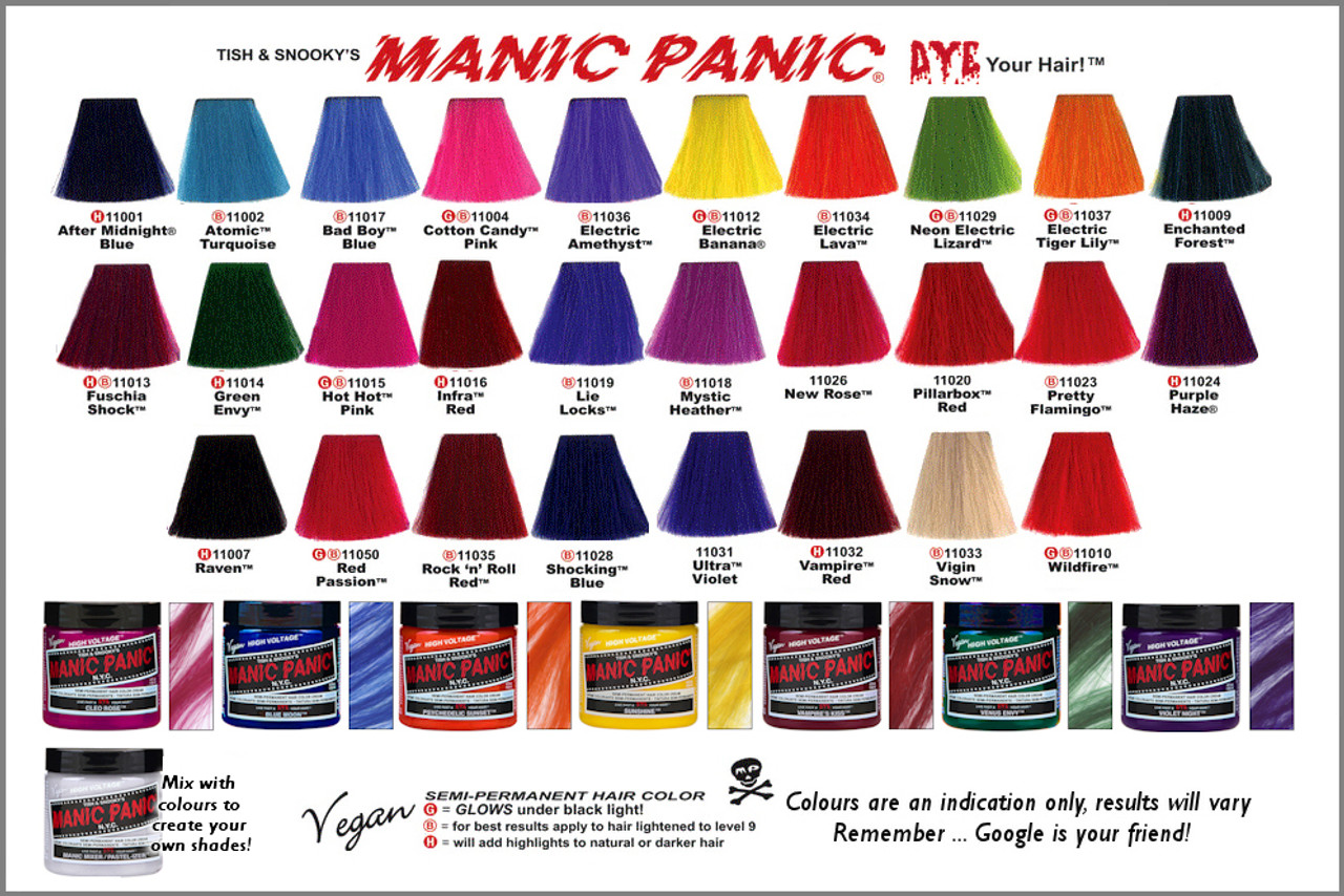 Fabulous Manic Panic High Voltage Classic Cream Hair Color - Westside Beauty @RP34