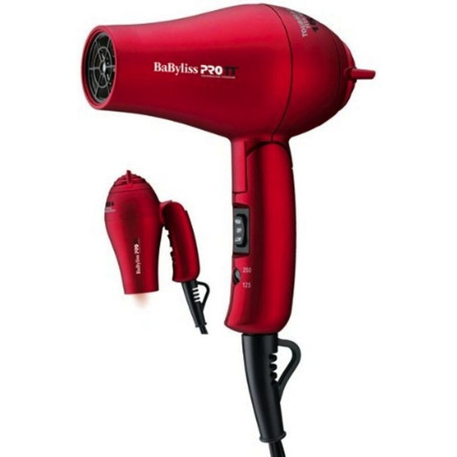 BaByliss PRO Red Travel Dryer