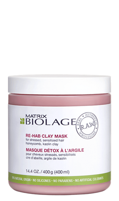 R.A.W. Re-Hab Clay Mask